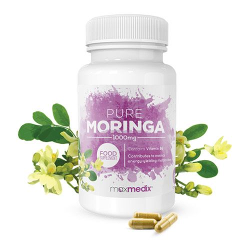 Bottle of Pure Moringa