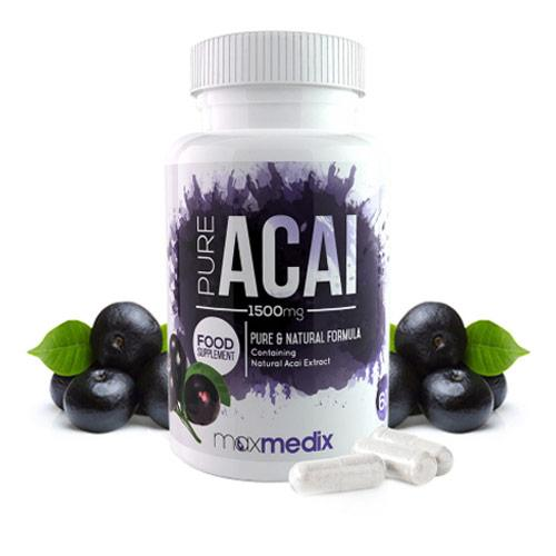 Bottle of Pure Acai