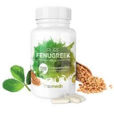 Bottle of Pure Fenugreek