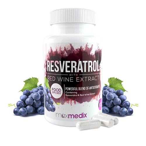 Bottle of Resveratrol